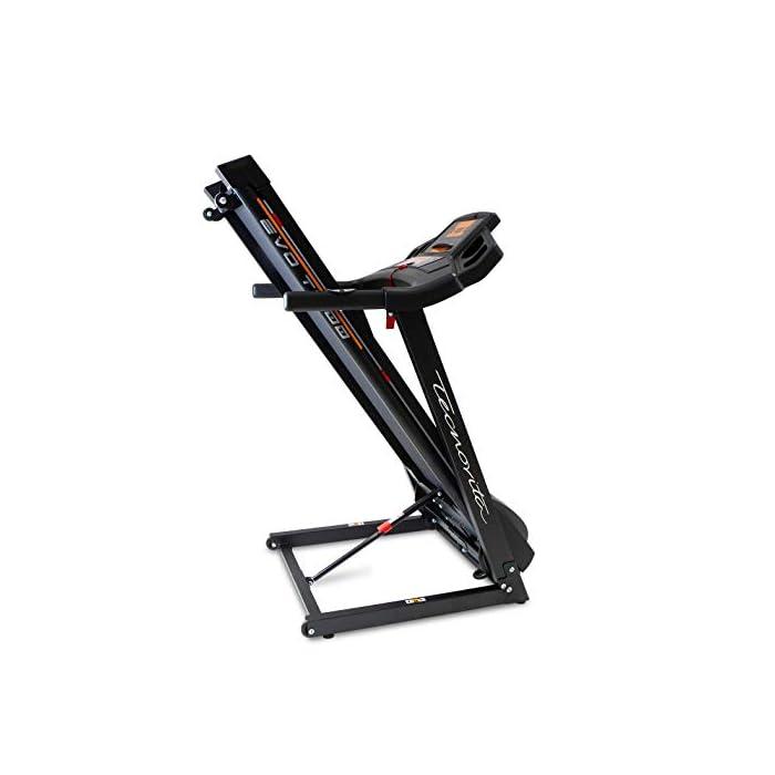 41NMG5ETBqL Cinta de correr eléctrica plegable con apertura y cierre asistido Detección de la palma de las pulsaciones en el manillar. Inclinación eléctrica hasta un 10%. Aumenta la intensidad de los músculos de las piernas y la espalda.