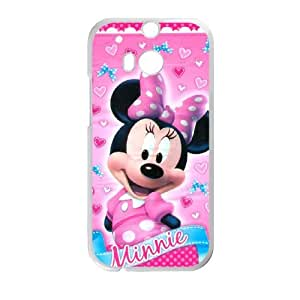 HTC One M8 Cell Phone Case White Minnie Mouse sfsd7972903 cheap phone covers