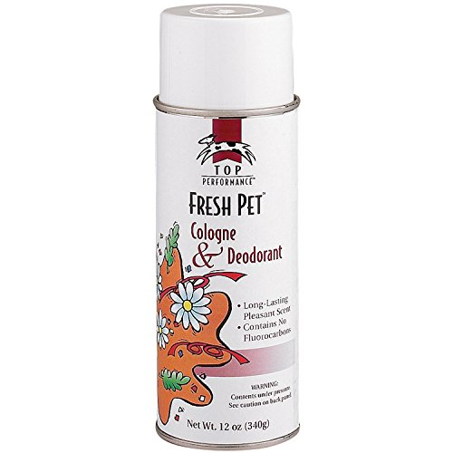 Top Performance Dog And Cat Cologne And Deodorant Fresh