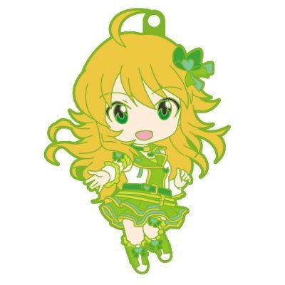 Nendoroid Plus rubber strap The Idolmaster One For All 765PRO ALLSTARS stage B [3. Miki Hoshii] (single)