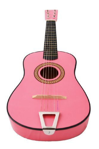 23 Inches Kids Children Mini Acoustic Toy Guitar Pink