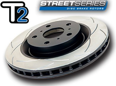 - DBA (653S) Street Series Slotted Disc Brake Rotor, Rear