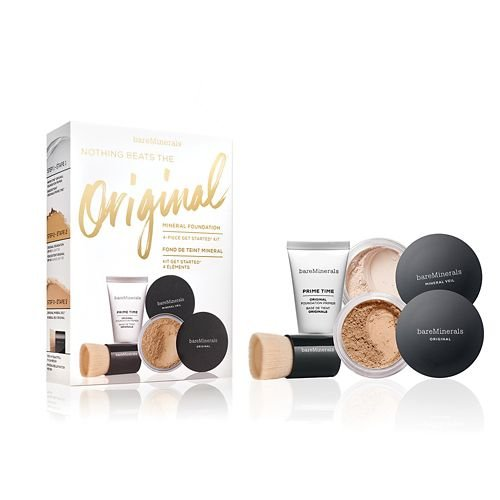 g Beats The Original Get Started Set Medium Beige 4pc Set set (Bareminerals Kit)
