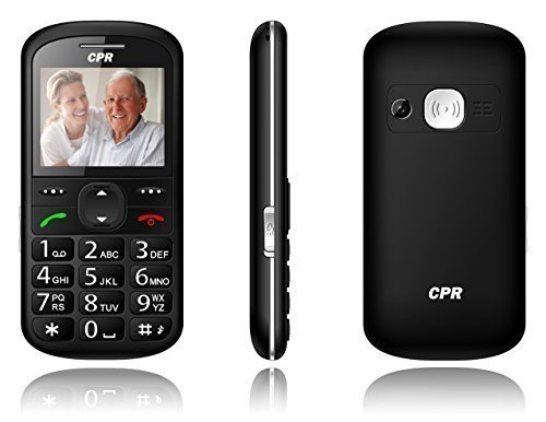 CPR Call Blocker CS600 Big Button Call Blocking Cell Phone - Unlocked GSM - Senior Cell Phone - SOS Button - 2G T Mobile (Land Line Flip Phone)