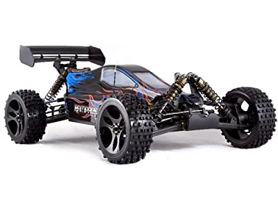 Redcat Racing Rampage XB-E Electric Buggy, Blue, 1/5 Scale