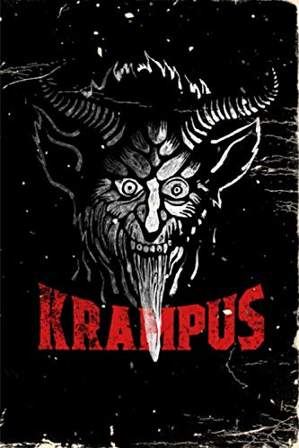 Notebook: Gruss Vom Grampus Greetings from Christmas Devil - Blank Lined Journal For College Students Who Loves Krampus Christmas Demon - 6x9 inches, 120 pages - Distressed Style -