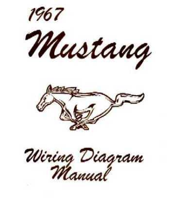 amazon com 1967 ford mustang wiring diagrams schematics automotive 1980 ford mustang wiring diagram 1967 ford mustang wiring diagrams schematics