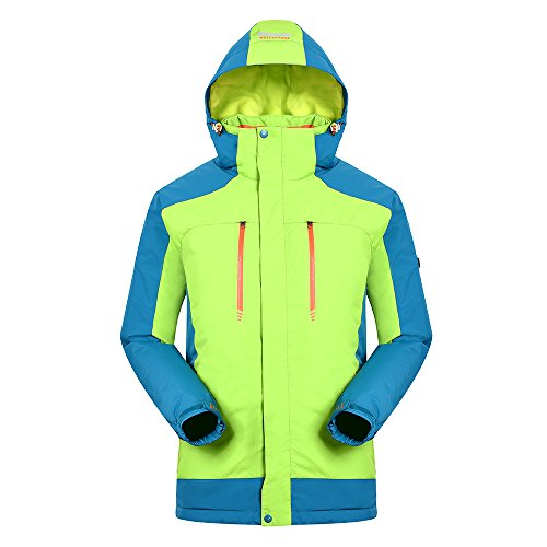 Redder Heated Jacket for Men with New Heated System 2017, Warm keep Auto-heated Winter Coat with USB Charged, Couple Suit, Outdoors Sports Waterproof Jacket for Hiking, Skiing, Climbing, Daily Wearing by redder