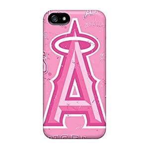 Premium Durable Los Angeles Angels Fashion Tpu Iphone 5/5s Protective Case Cover