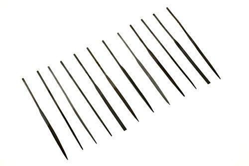 - SE 7382NF Premium Quality Needle File Set, 2mm x 100mm (12 PC.)