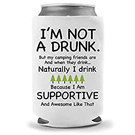 Cool Coast Products | Funny Beer Joke Coolies | Fun America Beer Can Holders | Neoprene Insulated Soft Can Cooler…