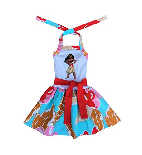 [Moana Girl Dress- Moana Girl Outift- Hawaiian Moanna Gir Dress- Moanna Girl Costume] (Gir Costume)