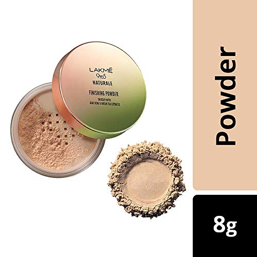 Lakme 9 to 5 Naturale Finishing Powder, 8g