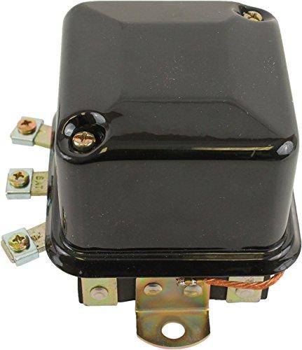 DB Electrical  GDR6005 Aftermarket Delco Regulator For Massey Ferguson 12 Volt 1118981 1118988 1825-48-M91 1825-48-M92 1900-343-M91 511-472-M1
