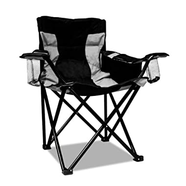 Caravan Sports Elite Quad Chair, Black