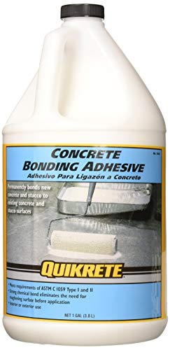 Concrete Bonding Additive - QUIKRETE GLUES & CEMENTS No. 9902 441607 Concrete Bonding Adhesive