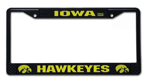 iowa hawkeye license plate frame - 1