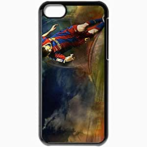 XiFu*MeiPersonalized iphone 6 4.7 inch Cell phone Case/Cover Skin Amazing new cool lionel messi BlackXiFu*Mei