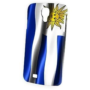 Case Fun Samsung Galaxy S4 (I9500) Case - Vogue Version - 3D Full Wrap - Flag of Uruguay
