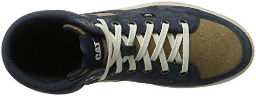 Caterpillar Radii, Zapatillas Altas para Hombre Azul (Mens Navy)