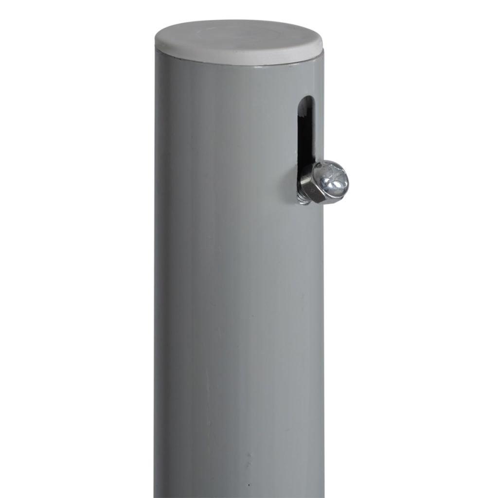 mewmewcat Toldo Lateral para Proteger Lateral Separador Retr/áctil Biombo Separador para Jard/ín o Terraza 160x0-300cm Marr/ón