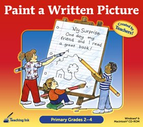 Primary Ink - Paint a Written Picture (Primary Grades 2-4) - Teaching Ink! Printable Workbook