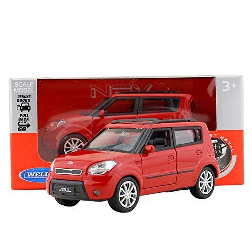 - Coaste 1:36 Alloy Pull Back Model Car, Kia Soul SUV Music&Flash Diecast Toy Vehicle, Alloy Diecast Car Models KIA Soul Model Cars Pull Back Car Toy