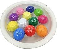 EliteShine Floater Golf Balls Unsinkable Range Balls for Golf Clubs (15-Piece Pack)