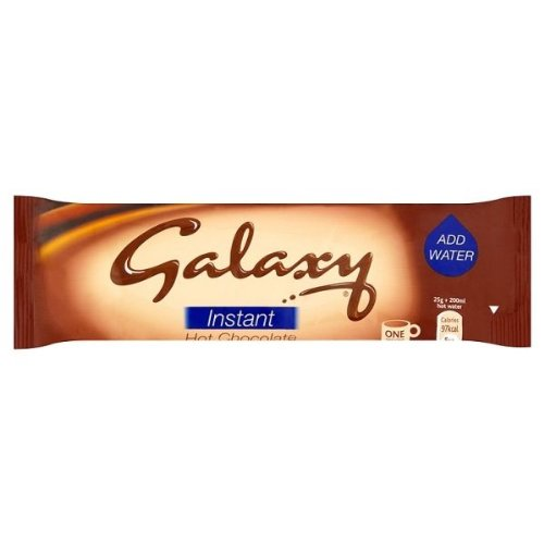 Galaxy Instant Hot Chocolate Drink Sachets 25g x Case of 50