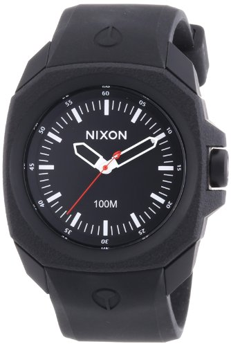 Nixon A349-001 Mens The Ruckus All Black Watch