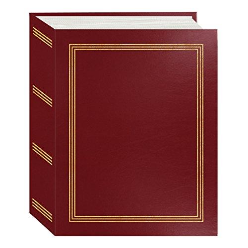 100 Pocket Album - Pioneer Photo Albums A4-100 Red 100 Pocket Mini-Max Album Hold 4x6 Photos, Burgundy, 4