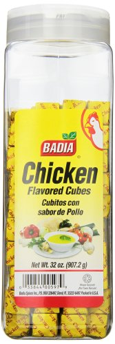 Badia Chicken Bouillon Powdered Cubes, 32 Ounce
