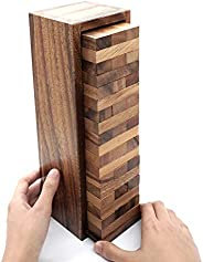 Board Games for Families and Kids with a Stacking Block Games of Tumbling Tower Game Classic Wood that Will Ch