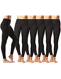 High Waist Ultra Soft Lightweight Leggings - High Rise...