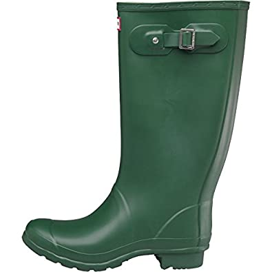 Hunter Womens Huntress Bagged Wellington Boots Green (UK 10 Euro 44)