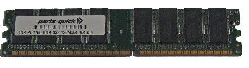 (1GB PC2700 333MHz 184 pin DDR SDRAM Non-ECC DIMM Memory RAM for eMachines C2684 C2685 C2782 C2825 C2881 C3070 (PARTS-QUICK BRAND))
