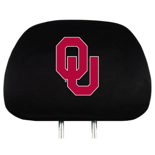 Ncaa Headrest Covers (NCAA Oklahoma Sooners Head Rest Covers, 2-Pack)