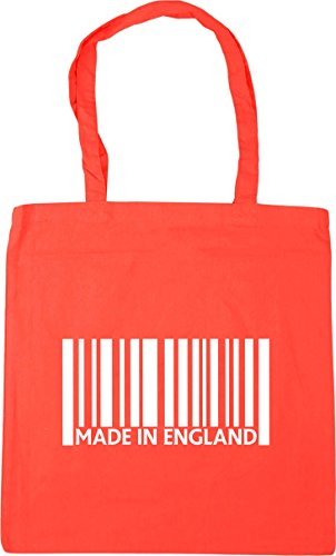 Shopping HippoWarehouse 10 42cm Bag England Made Coral Beach x38cm in Gym litres Tote IaaTwx