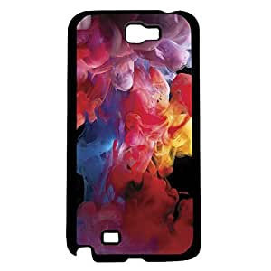 Colorful Smoke Hard Snap on Phone Case (Note 2 II) by lolosakes