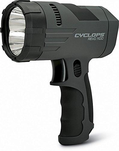 Cyclops Revo 1100 Lumen Handheld Spotlight with Rechargeable Battery