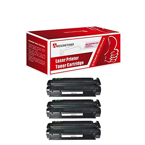 (Awesometoner Compatible 3 Pack Q2613X MICR Toner Cartridge for HP Laserjet 1300 1300n 1300xi Yield 4000 Pages)