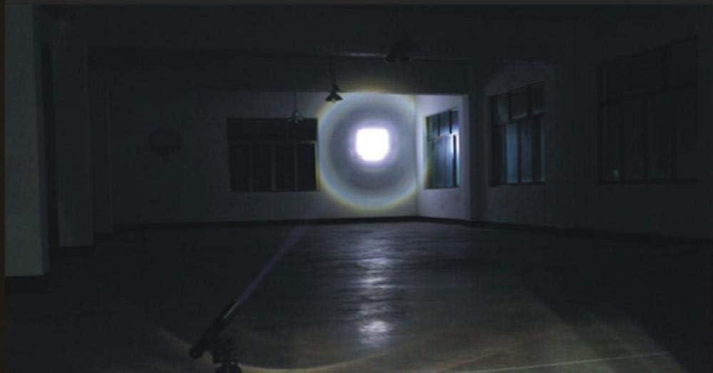 Autodefensa patrulla seguridad maza LED deslumbramiento telesc/ópico linterna de carga remota conductor al aire libre esencial