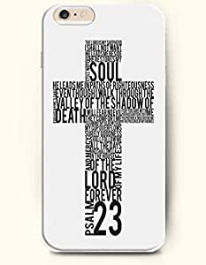 iPhone Case,OOFIT iPhone 6 Plus (5.5) Hard Case **NEW** Case with the Design of psalms 23 soul and death of the lord forever - Case for Apple iPhone iPhone 6 (5.5) (2014) Verizon, AT&T Sprint, T-mobile