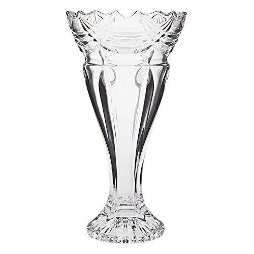 Godinger Espirit 12-Inch Crystal Vase
