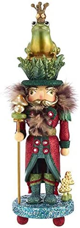 Kurt S. Adler 16.5-Inch Hollywood Frog Prince Nutcracker Multi
