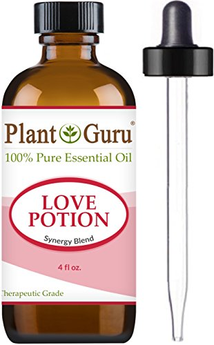 Love Potion Synergy Essential Oil Blend 4 oz. 100% Pure, Undiluted, Therapeutic Grade. by Plant Guru