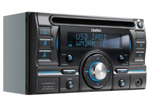 クラリオン Clarion DUB385MPB 2DIN CD/USB/MP3/WMA/AAC レシーバー B004H0GSJ6