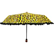 Futai AL95003-486 Adrienne Landau Leopard Umbrella
