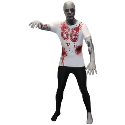 Morphsuits Premium Scary Zombie, Multi, Plus Skinsuit ()