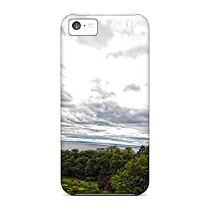 Iphone Covers Cases - Castle With A View Protective Cases Compatibel With Iphone 5c